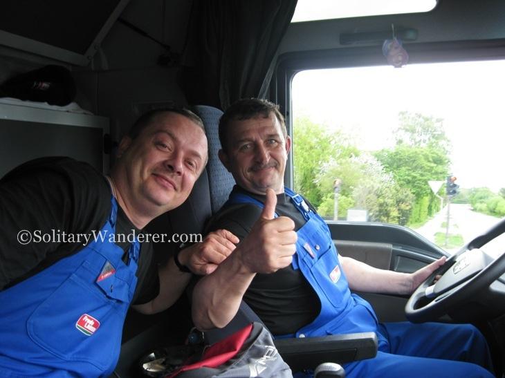 Polish truck drivers
