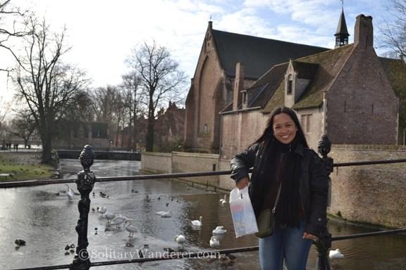 Minnewater Park, Brugges, Belgium