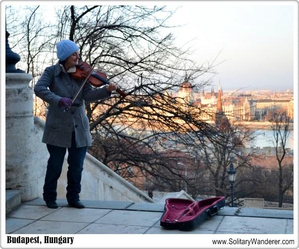street musician budapest