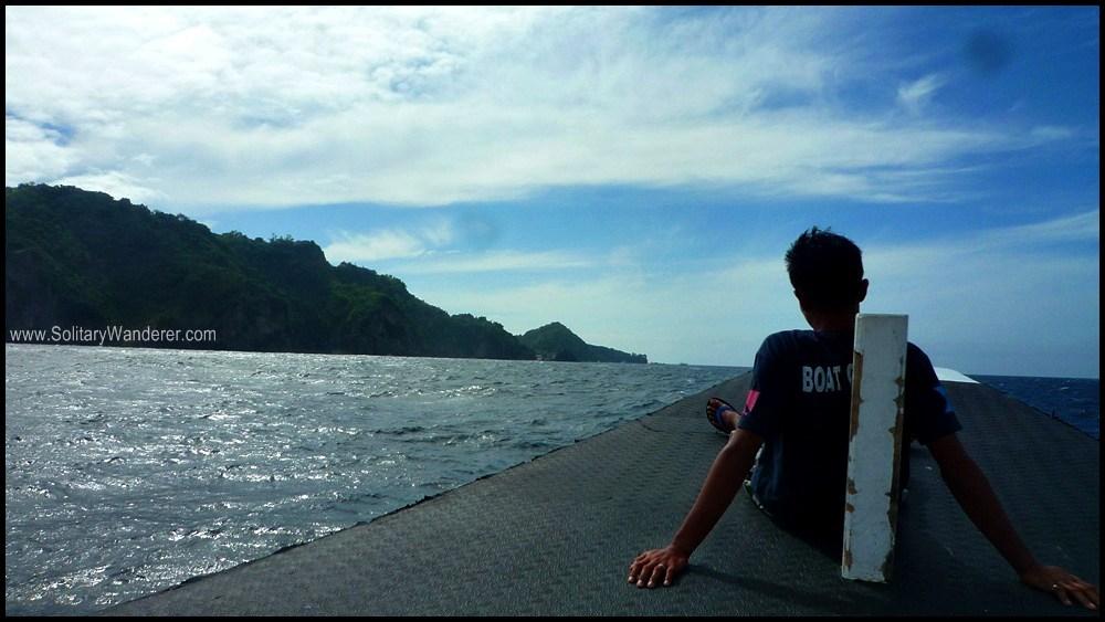 On the way to Apo Island.