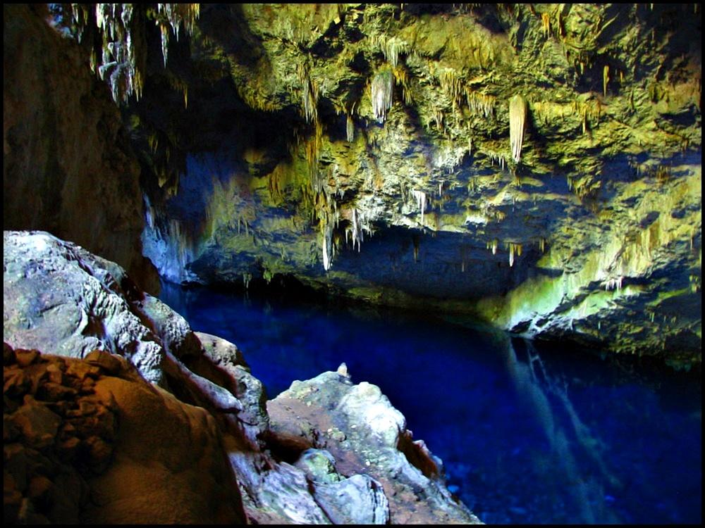 Gruta Lago Azul brazil