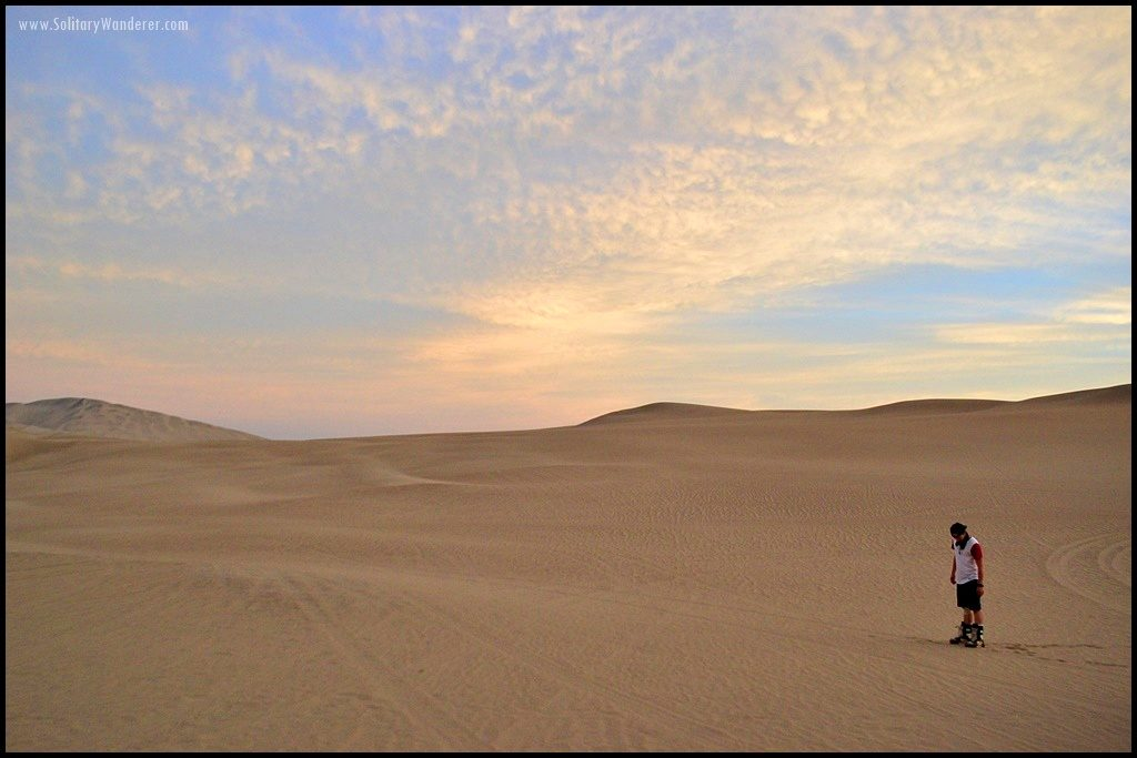 huacachina sunset