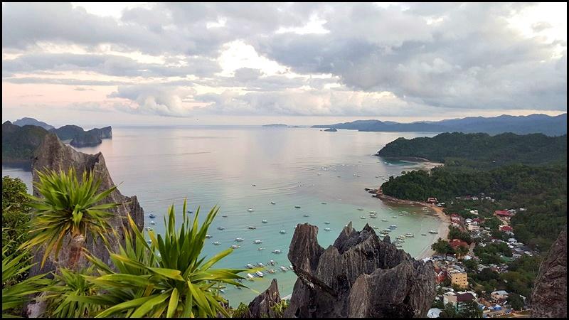 Palawan El Nido Attractions Taraw Cliff