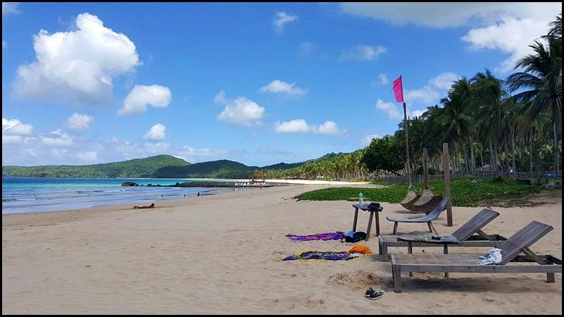 El Nido Attractions Nacpan beach