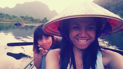 My Vietnamese friend whom I met in a hostel in Manila. She toured me to the best places in Vietnam when I visited her