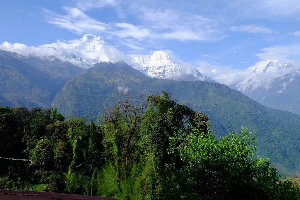 annapurna himalayas tadapani nepal traveler's high