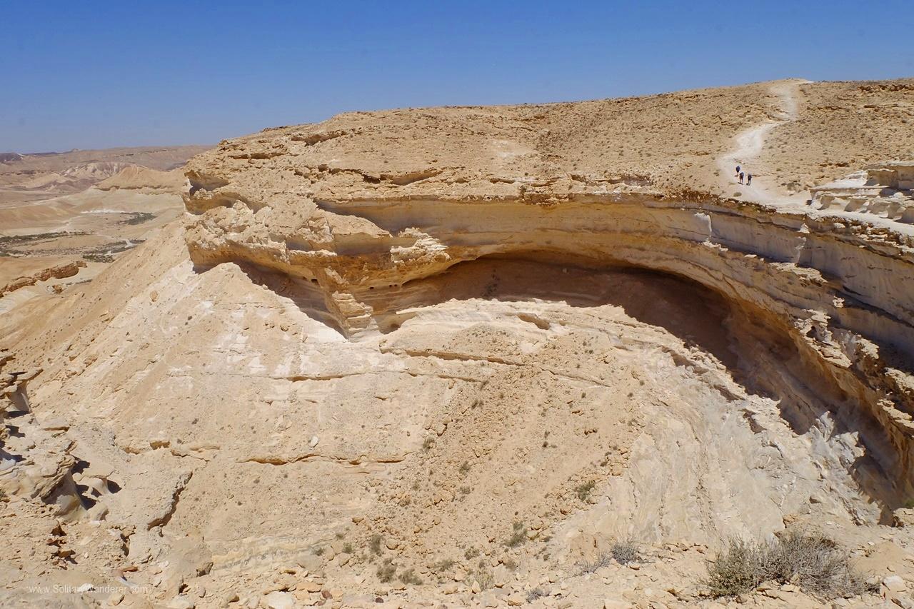 cliff ein akev trail israel