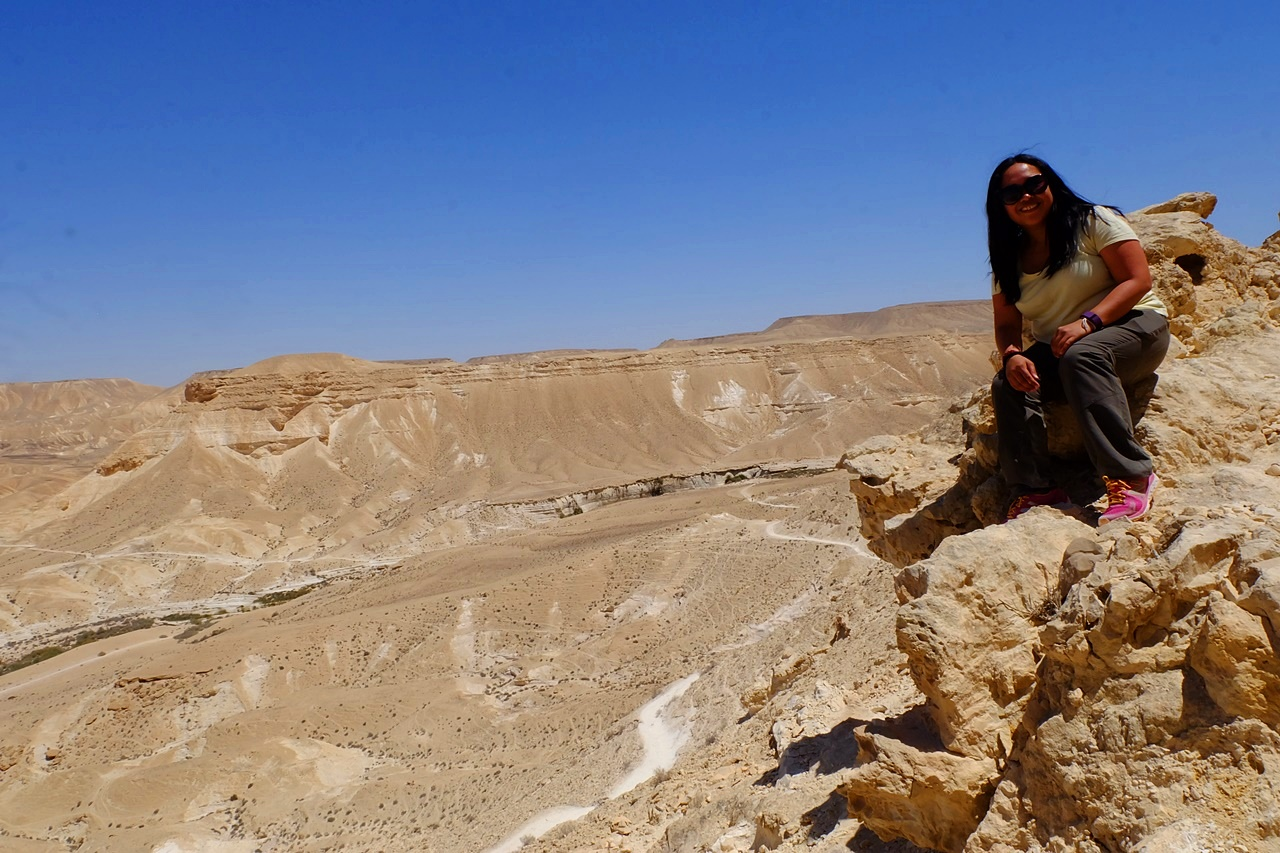 hiking solo in israel