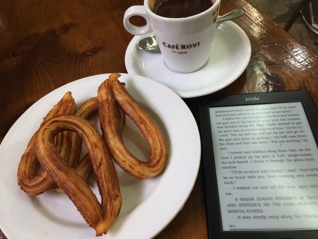 barcelona solo travel guide - try out churros