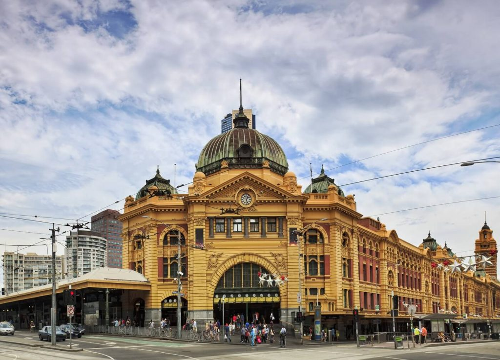 Things to do in Melbourne -- Flinders Station