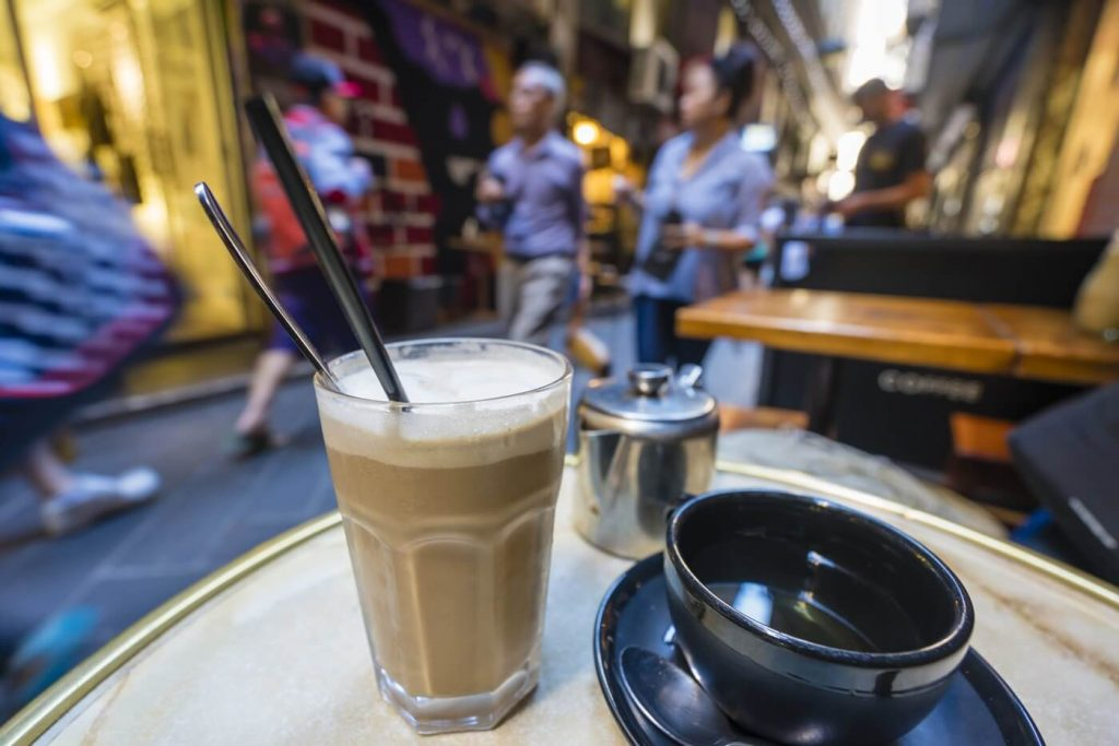Things to do in Melbourne -- Have coffee in laneways