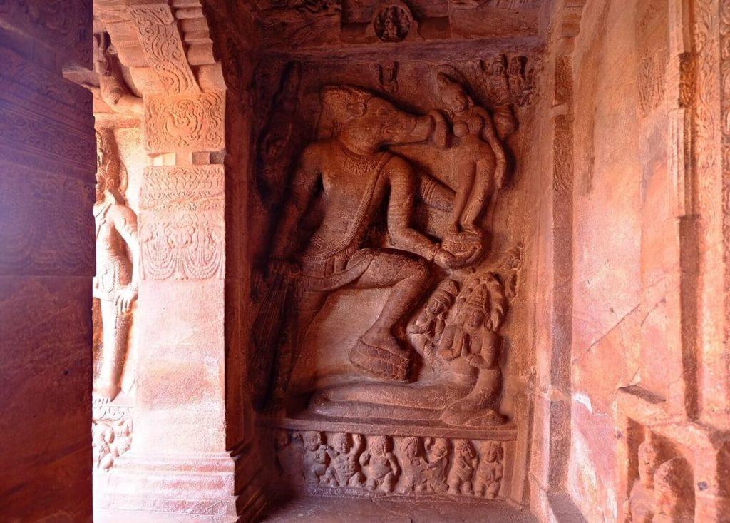 Badami Cave Temples -- cave 2