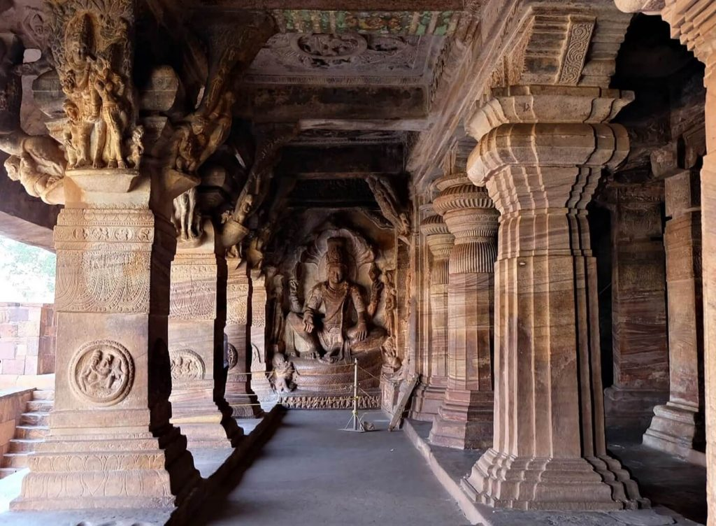 Badami Cave Temples -- cave 3
