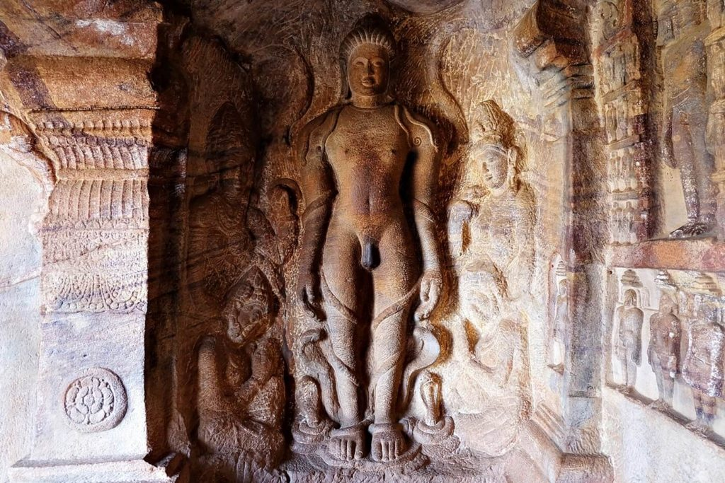 Badami Cave Temples -- inside cave 4