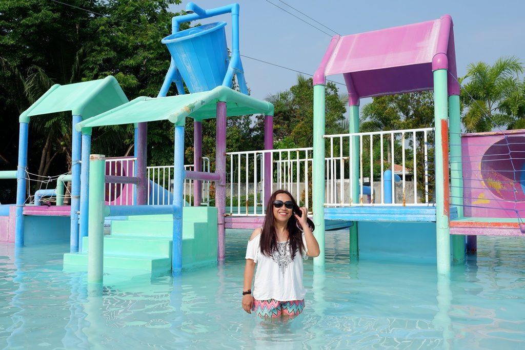 The kiddie pool in Crystal Waves