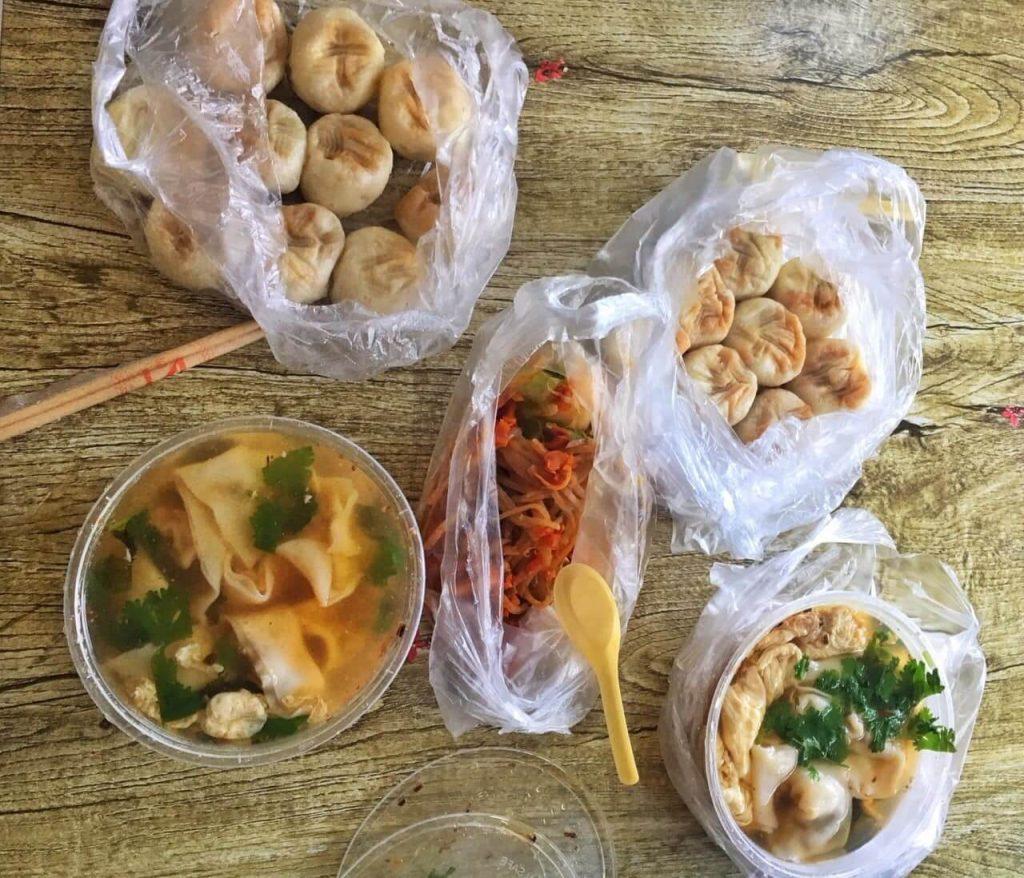 China breakfast