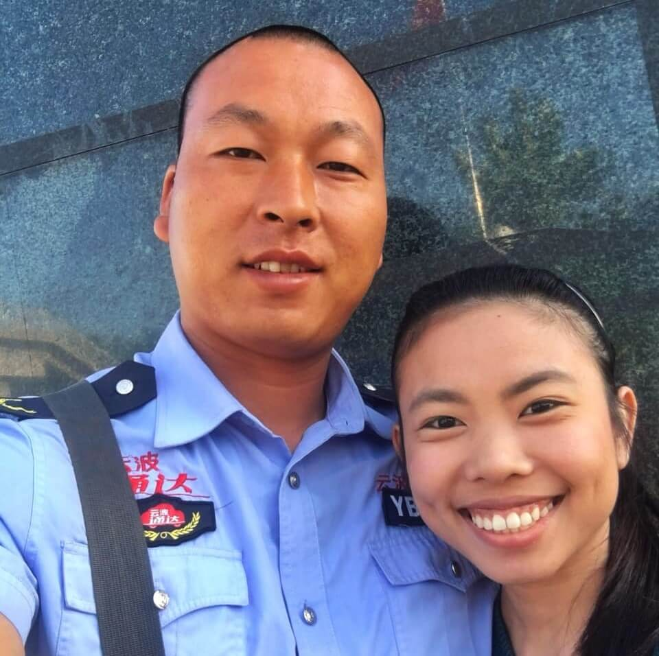 Security personnel in China