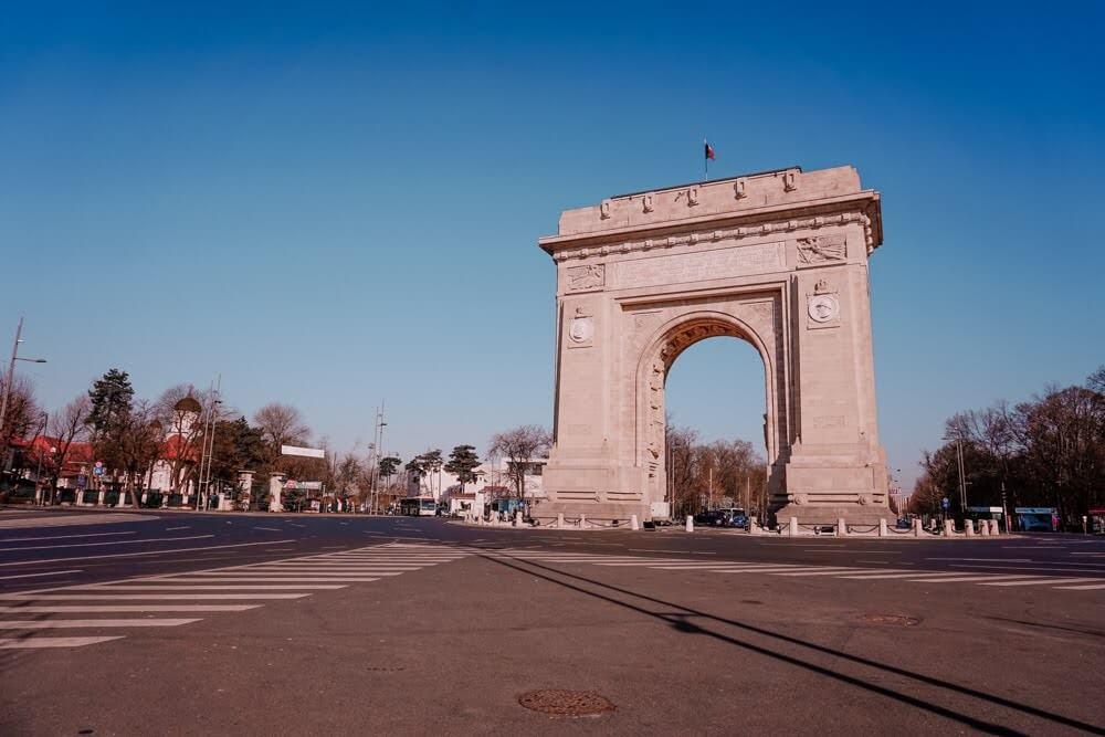 Triumphal Arch_Bucharest