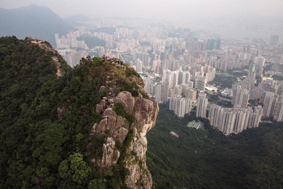 Hong Kong Itinerary Lion Rock Hike
