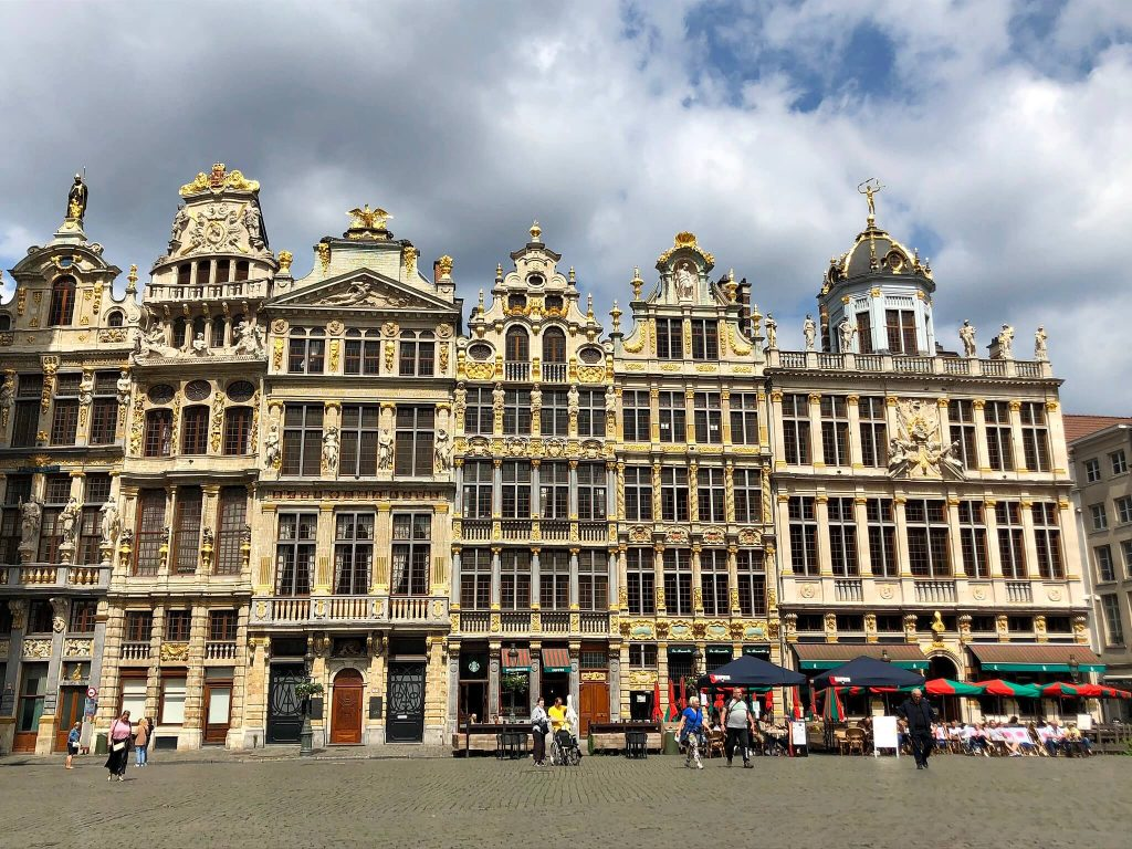 Grand Place Brussels Summer