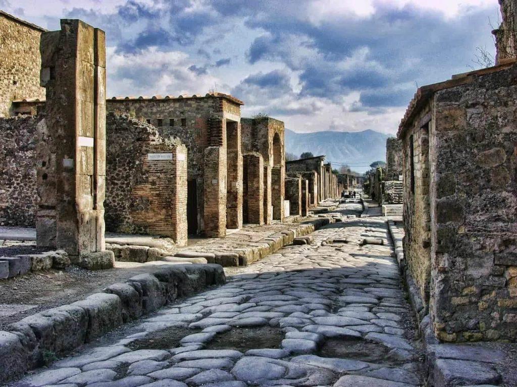 Explore historic Pompeii (stock photo)