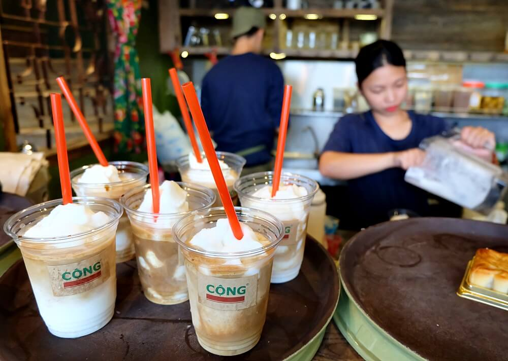 coconut coffee vietnam